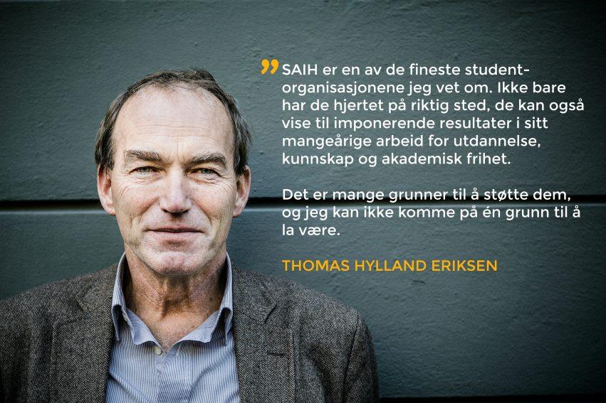Thomas Hylland Eriksen Kun Sitat