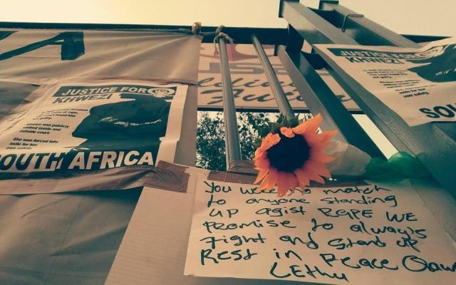 """""""1 in 9"""": Kwezis kamp mot makta i Sør-Afrika"""