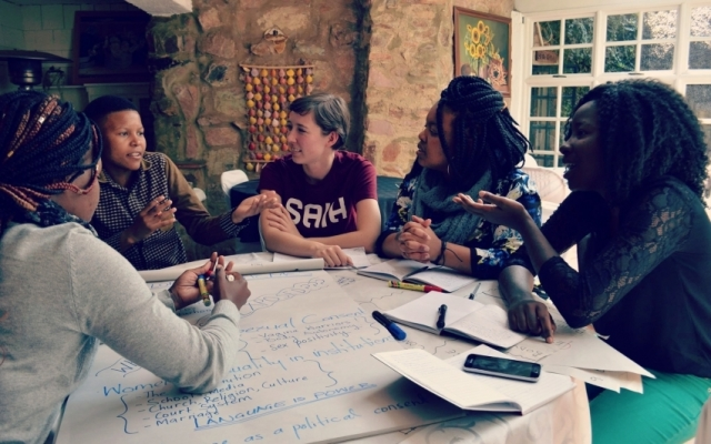 Work with students' rights in South Africa