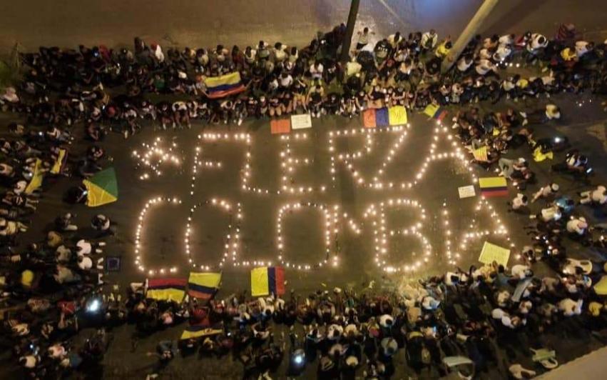 Vær sterk, Colombia!*